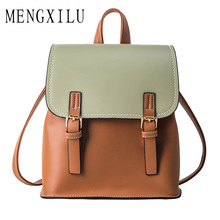 Vintage Women Backpack 2019 Preppy Style Quality Backpacks Women Fashion School Bag College Backpack Women Shoulder Bag Mochilas new vintage black and brown color mens leather backpack preppy style student school backpacks for college stylish mochilas male
