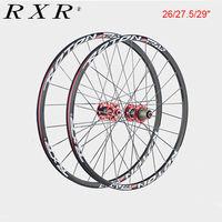 RXR Carbon Hub Wheelset MTB 26er 27.5er 29er Rims Wheel Sets Mountain Bike Disc Brake Front&Rear 100/135mm QR Bicycle Wheels