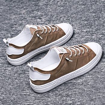 Men Casual Shoes Loafers Trainers zapatos hombre Mens Breathable Canvas Tenis Shoes Man Fashion Canvas Sneakers For  Men vans authentic grey canvas mens trainers