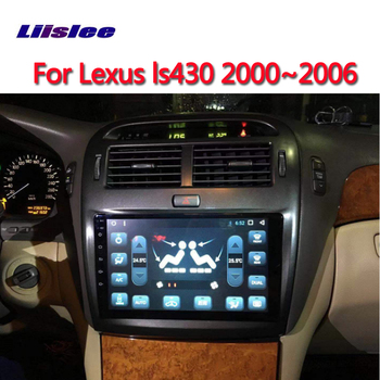 For Lexus LS430 2000 2001 2002 2003 2004 2006 Original Style Android multimedia player Car touch screen GPS Navigation Support