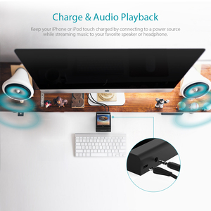 Image 5 - dodocool MFi Certified Charging Dock Station Holder Stand with 3.5 mm Audio Jack 3.3ft USB Cable for iPhone Series
