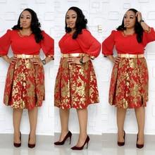 Dashiki African Dresses For Women Womens Dress 2019 Print Ankara Africian Clothing