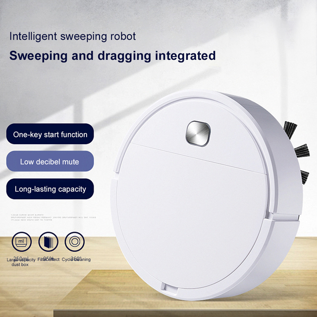 2021 Upgrade Smart Robot Vacuum Cleaner 1800Pa App Remote Control Vacuum Cleaner Home Multifunctional Wireless Sweeping Robot 5