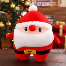 Hot Selling Santa Claus Elk Deer Pillows Free Shipping Hands Plush Toys Cushions Christmas Gifts