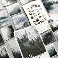 50 шт./лот Декоративные наклейки для записей серии Ван Гога Стикеры для скрапбукинга Стикеры для дневников