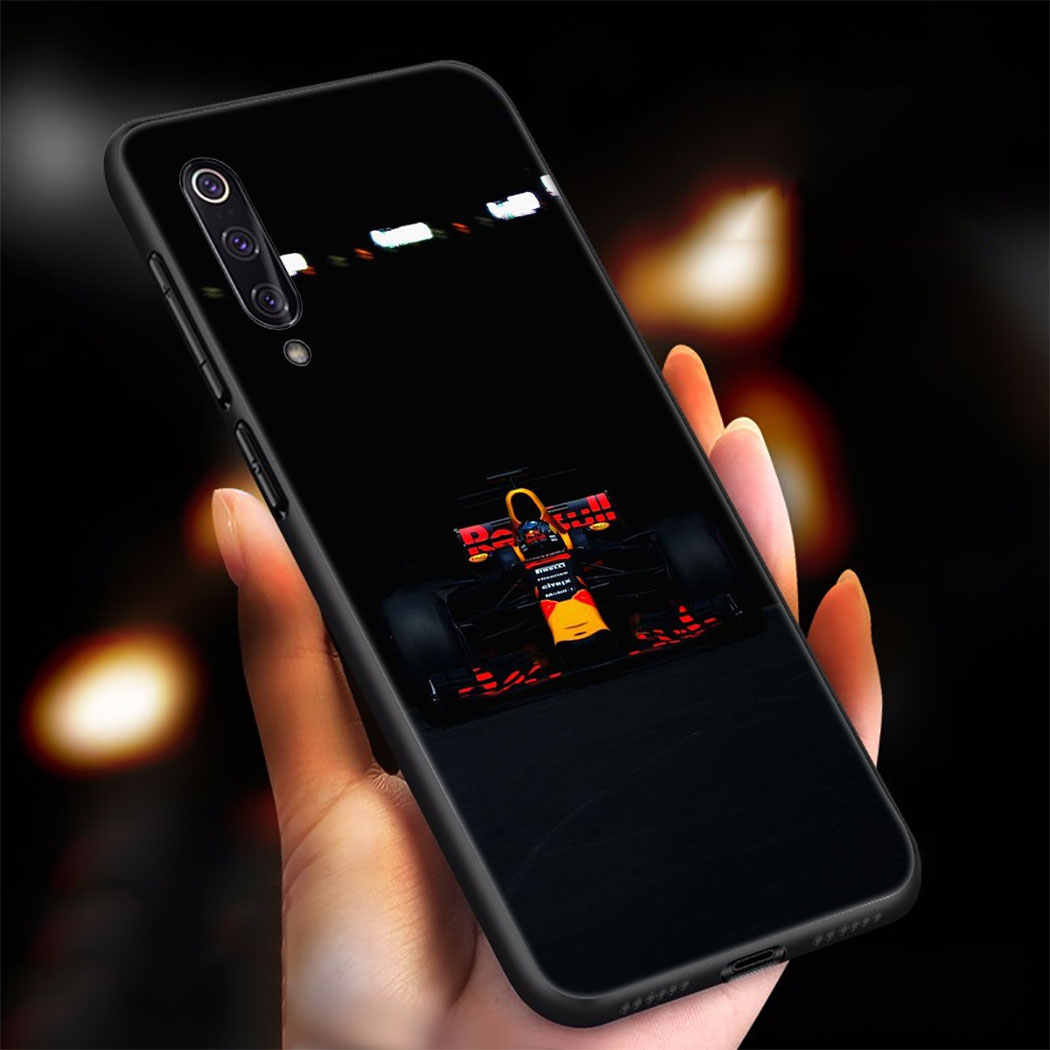 IYICAO לפורמולה 1 רך סיליקון מקרה עבור Xiaomi 9 8 SE A2 לייט A3 9T פרו A1 CC9 5X 6X מקסימום 3 F1 מקרה