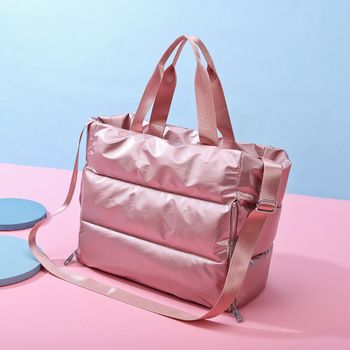 Fashion Travel Bag Waterproof Sports Yoga Bag Female Gym Fitness Handbags And Purses Shoulder Bags For Women 2021 sac de voyage 1