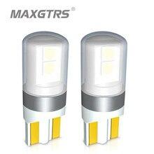 Ampoules 3030 Super lumineuses pour intérieur de voiture, Canbus T10 W5W 12V 24V 6000K K, 2 pièces