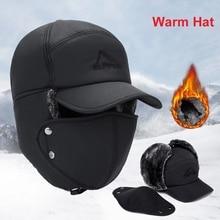 Hat Men Ear-Flap Lei Faux-Fur Winter Women And Windproof Feng-Hat Ski-Cavalry-Cap Warm