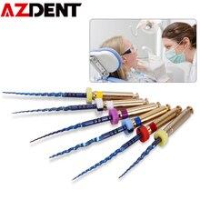 6 teile/paket 25mm, SX-F3 Dental Dateien Wurzel Kanal Dental Motor Einsatz Dreh Wärme Aktiviert Kanal Wurzel Dateien Endodontie