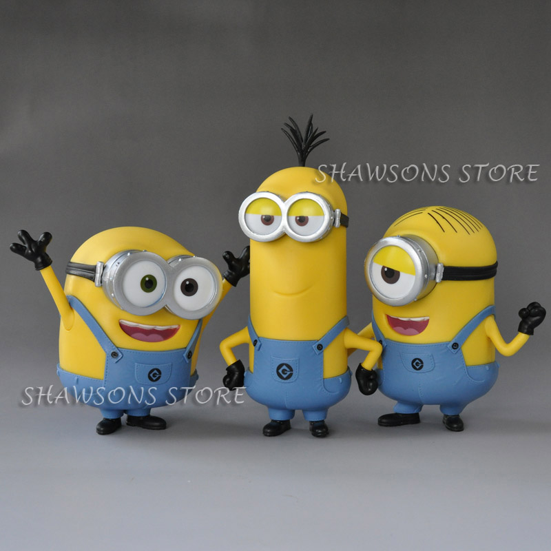 Movie Characters Toys 4 Minion Bob Stuart Kevin In Jeans Action Figure Doll Action Toy Figures Aliexpress