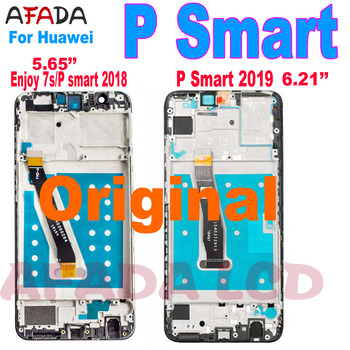Original for Huawei P Smart LCD Screen Enjoy 7s Display For 2019 POT-LX1 L21 LX3 Lcd Touch Assembly Repair