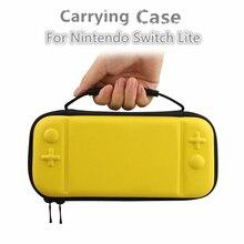 Console de jeu étui de protection EVA rangement housse de transport housse de transport avec cartouche de jeu pour Nintendo Switch Lite accessoires