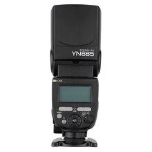 YONGNUO YN685 E TTL فلاش Speedlite HSS 1/8000s GN60 2.4G اللاسلكية Speedlight لكانون DSLR كاميرات ل YONGNUO 622C/603