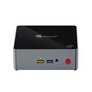 Image 2 - Beelink reproductor multimedia J34 Apollo Lake Celeron J3455, windows 10, mini Soporte para pc HDD, 8GB 256GB, windows 10, 64 bits