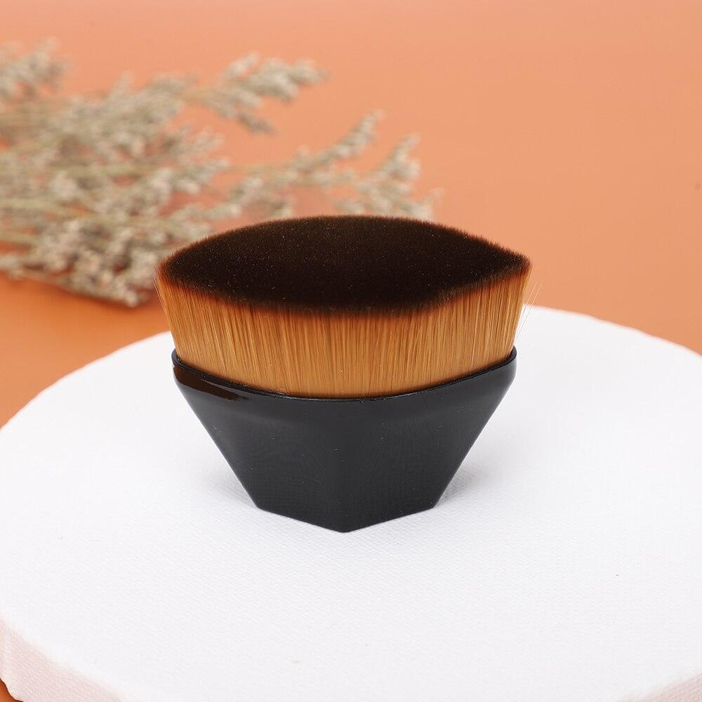 Профессиональная Кисть для макияжа JIELI, Кисть для макияжа щек из Натурального Волоса, кисть для основы под макияж и пудры, шесть угловых кист...