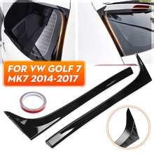جناح خلفي للسيارة ، سبويلر ABS ، تصميم سيارة ، لـ VW Golf 7 MK7 MK7.5 R GTE GTD 1.6/1.2T 2014 2018