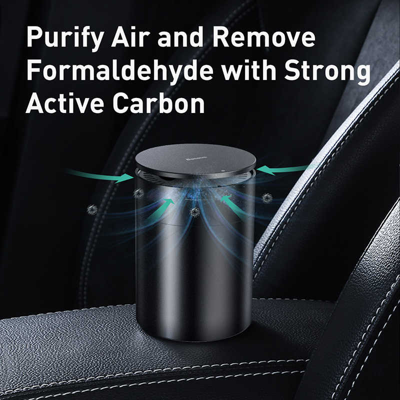 Baseus قوي العطور سيارة معطّر الهواء الروائح كأس حامل السيارات تنقية ناشر رائحة مع تنقية الفورمالديهايد