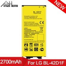 Аккумулятор для телефона pinzheng bl 42d1f 2700 мАч lg g5 vs987
