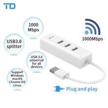 TP-LINK TL-UG313 External USB 3 0 Wired Ethernet Network Card Adapter USB 10 100 1000M Ethernet RJ45 Lan for Windows MAC Linux cheap NoEnName_Null 10 100 1000Mbps Laptop 802 11n USB3 0 Gigabit Ethernet