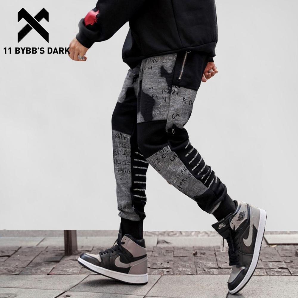 11 BYBB'S DARK Cotton Sweatpants Men Clothes Joggers Autumn Winter New Design Hip Hop Harem Pants Fashion Casual Streetwear