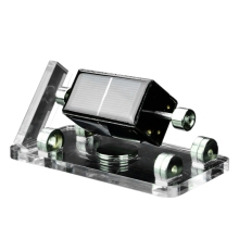 ELEG-Солнечный горизонтальный четырехсторонний Магнитный левитационный двигатель мендочино-Стирлинг образовательная модель двигателя