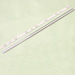 Image 2 - Универсальная светодиодная подсветка для ЖК телевизора 10 шт./лот, 32 дюйма, 7 ламп, 3 в, длина 60,5 см, Новая алюминиевая подложка