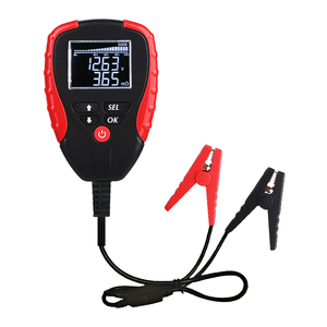 Image 2 - Digital 12V Car Battery Tester With AH Mode Battery Load Tester and Analyzer of Battery Life Percentage Voltage Resistance