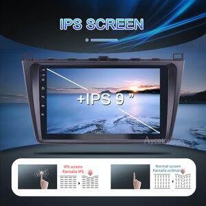 Image 2 - DSP IPS 4G + 64GB רכב רדיו 2 דין אנדרואיד 10 ראש יחידת autoradio אודיו GPS נגן עבור מאזדה 6 M6 2007 2014 אוטומטי סטריאו לא 2din dvd מולטימדיה