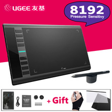 UGEE M708 8192 Levels 10x6inch Smart Graphic Drawing Tablet Digital Tablet  Pad Drawing Pen for Writing Painting Pro Designer цена и фото