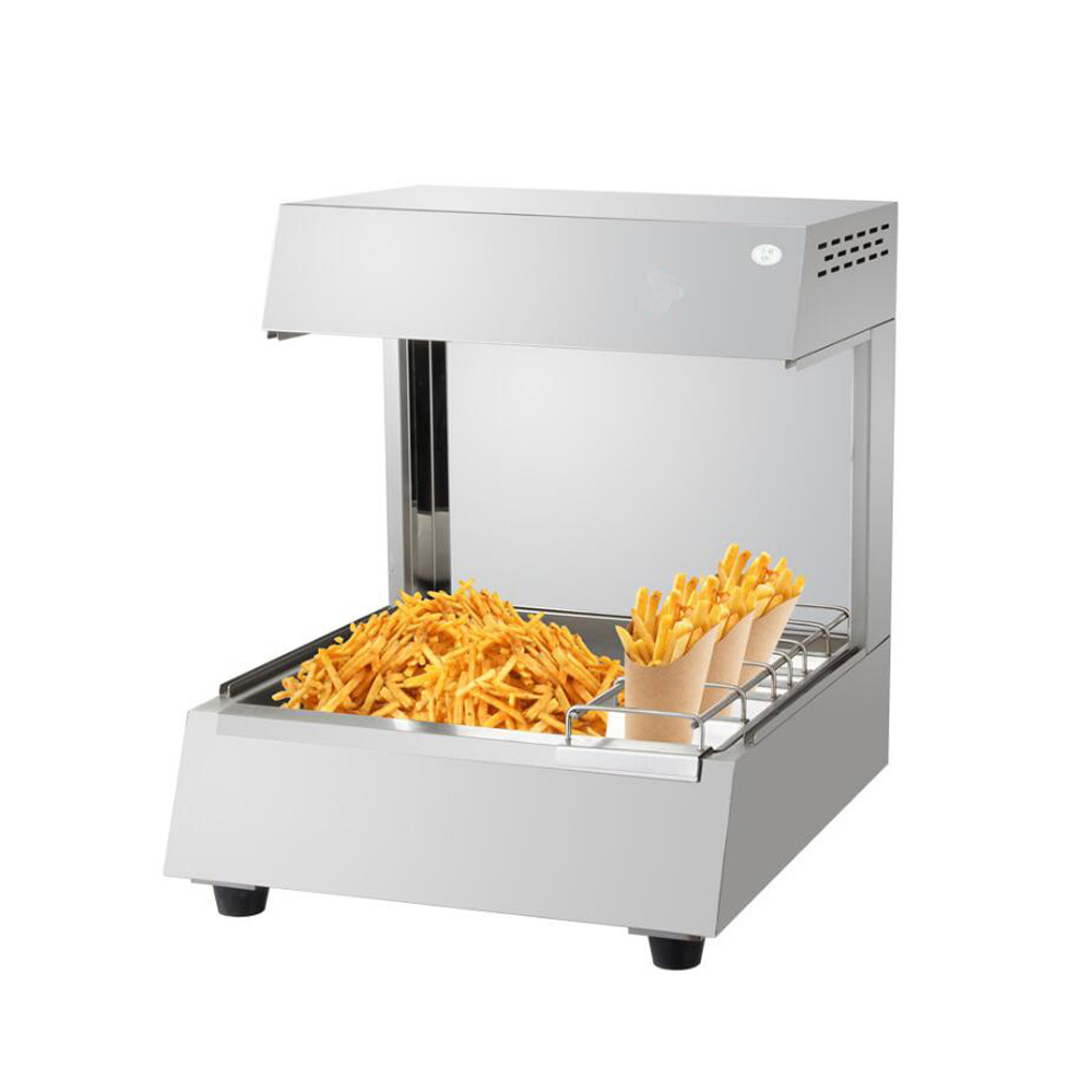 French Fries Warmer Fast Food Equipment French Fries Display Warmer