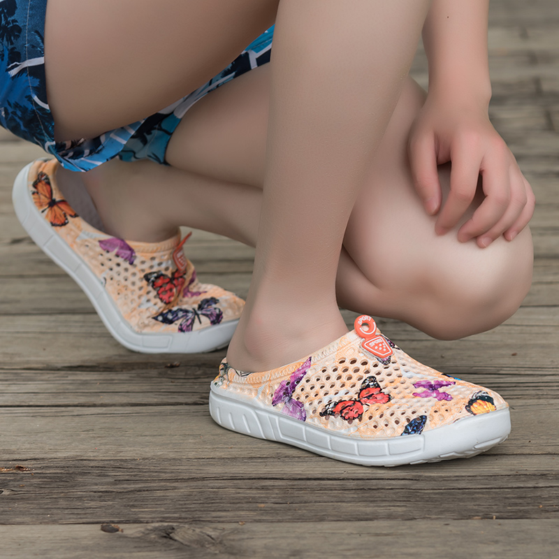 2019 womens casual Clogs Breathable beach sandals valentine slippers summer slip on women flip flops shoes home shoes for women 2