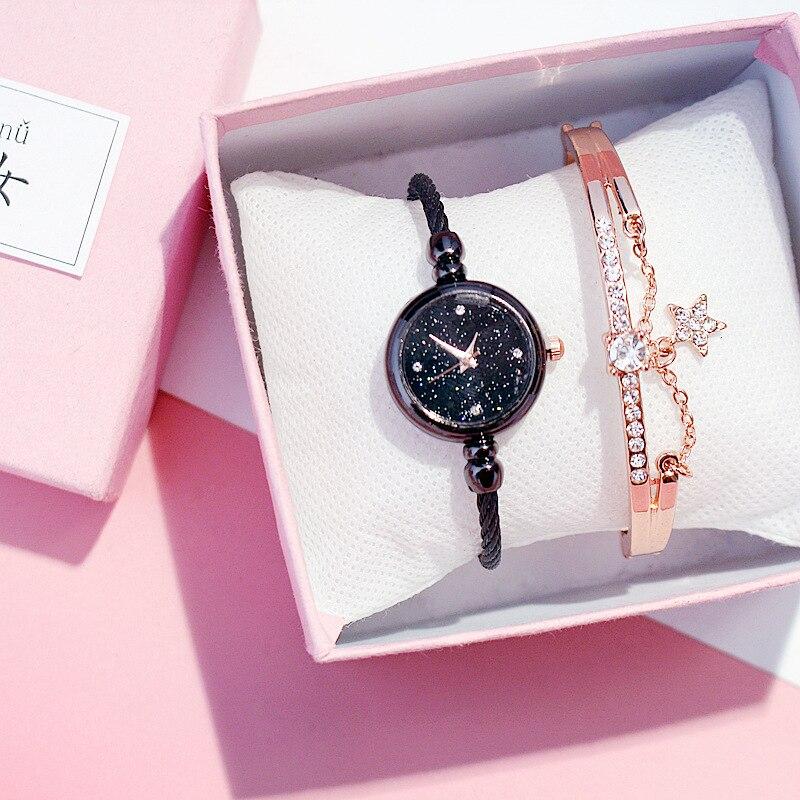 Elegant Small Gold Bangle Bracelet Women Watches Retro Ladies Stainless Steel Quartz Wristwatches Fashion Clock Relogio Feminino