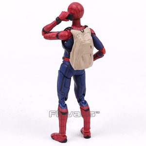 Image 4 - Shf Spider Man Homecoming De Spiderman Pvc Action Figure Collectible Model Toy