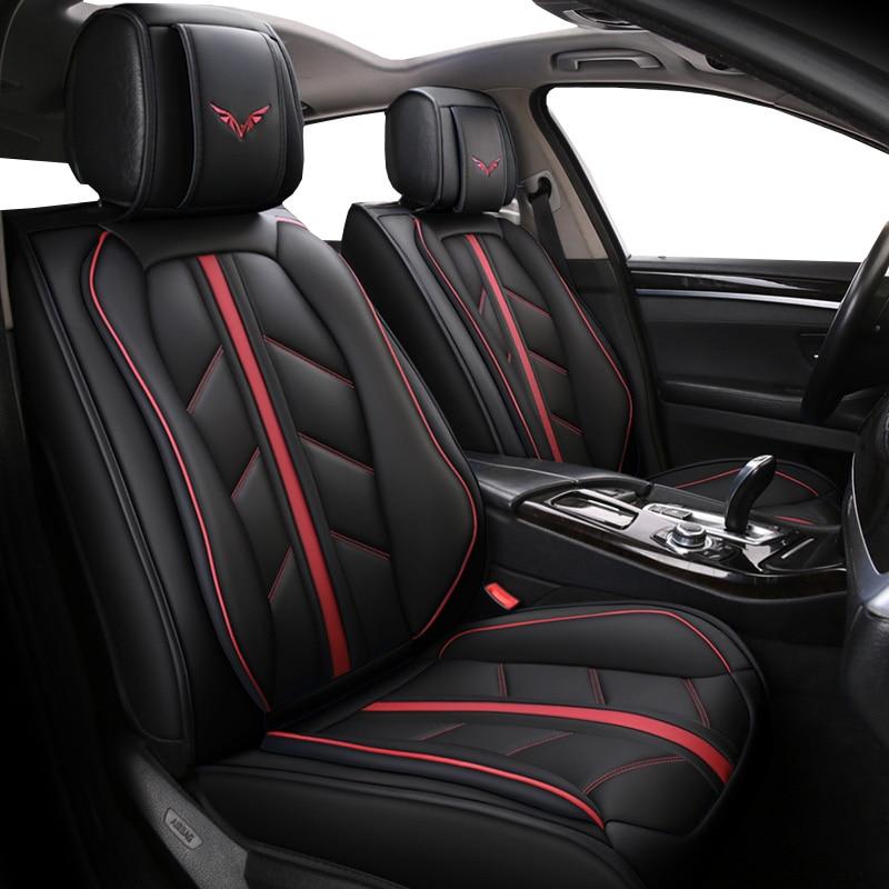Housse de siège de voiture en cuir spécial de haute qualité pour mg mg zs mg3 mini clubman cooper r56 countryman