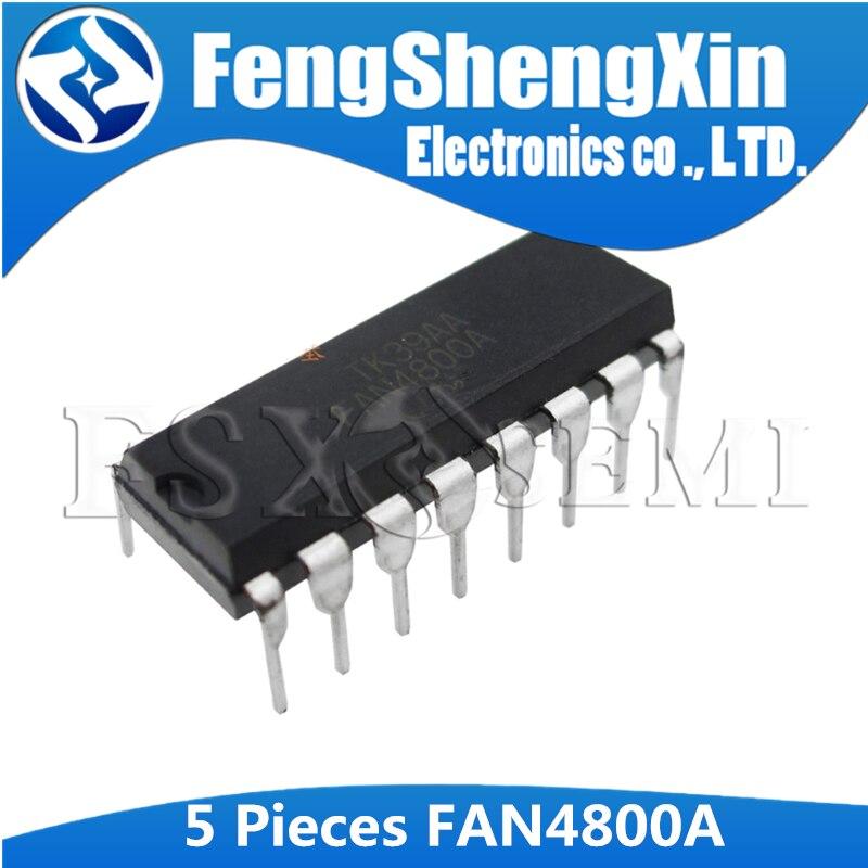 5pcs FAN4800A DIP-16 FAN4800ANY DIP FAN4800IN DIP-16 FAN4800  PFC/PWM Controller Combination IC