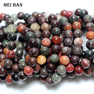Image 2 - Meihan wholesale (2 bracelets/set/38 beads) 10 10.8mm natural Brazil phantom crystal smooth round loose beads for jewelry making