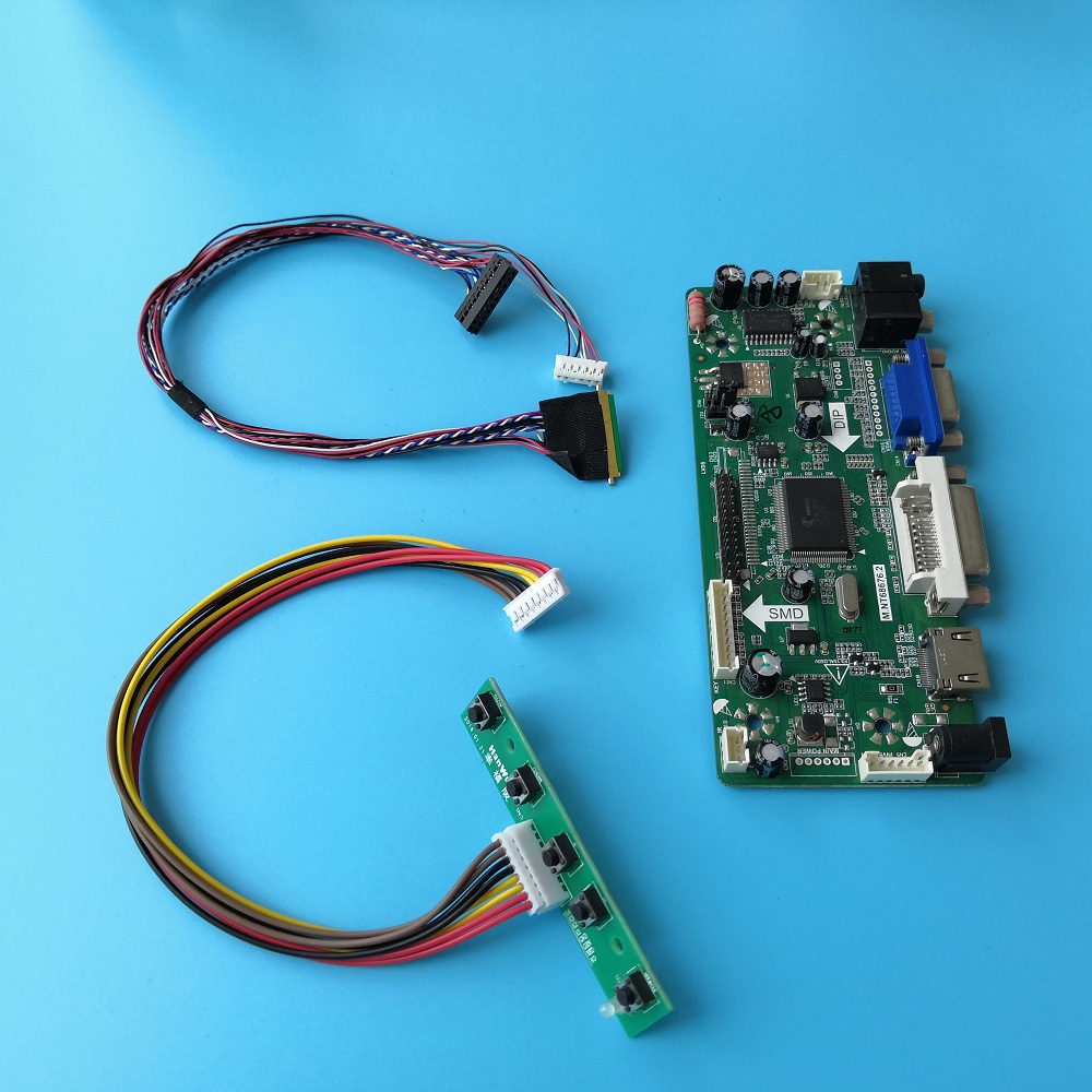 LED LCD HDMI DVI VGA LVDS Controller Board DIY For 40pin LP156WH2(TL)(C1)/LP156WH2(TL)(C2) 1366X768 15.6
