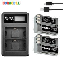 BONACELL – batterie d'appareil photo EN-EL3e EN EL3a ENEL3e + chargeur de remplacement, pour Nikon D300S D300 D100 D200 D700 D70S D80 D90 D50