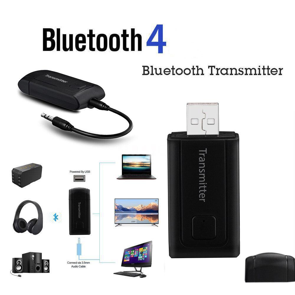 CARPRIE Bluetooth Transmitter Adapter Stereo USB For TV PC Computer Car Headphones Speaker Portable Wireless Receiver 3.5mm