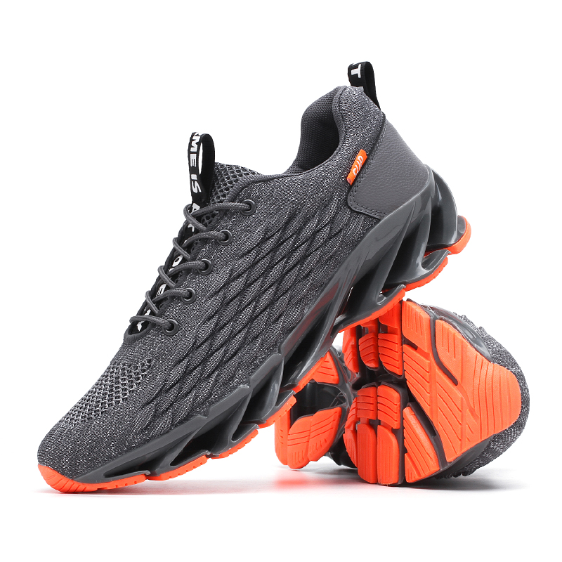 Fashion Personality Male Casual Footwear Lace-up Tenis Men Shoes  Sneakers Men Breathable Black Casual  Footwear Light Big Size