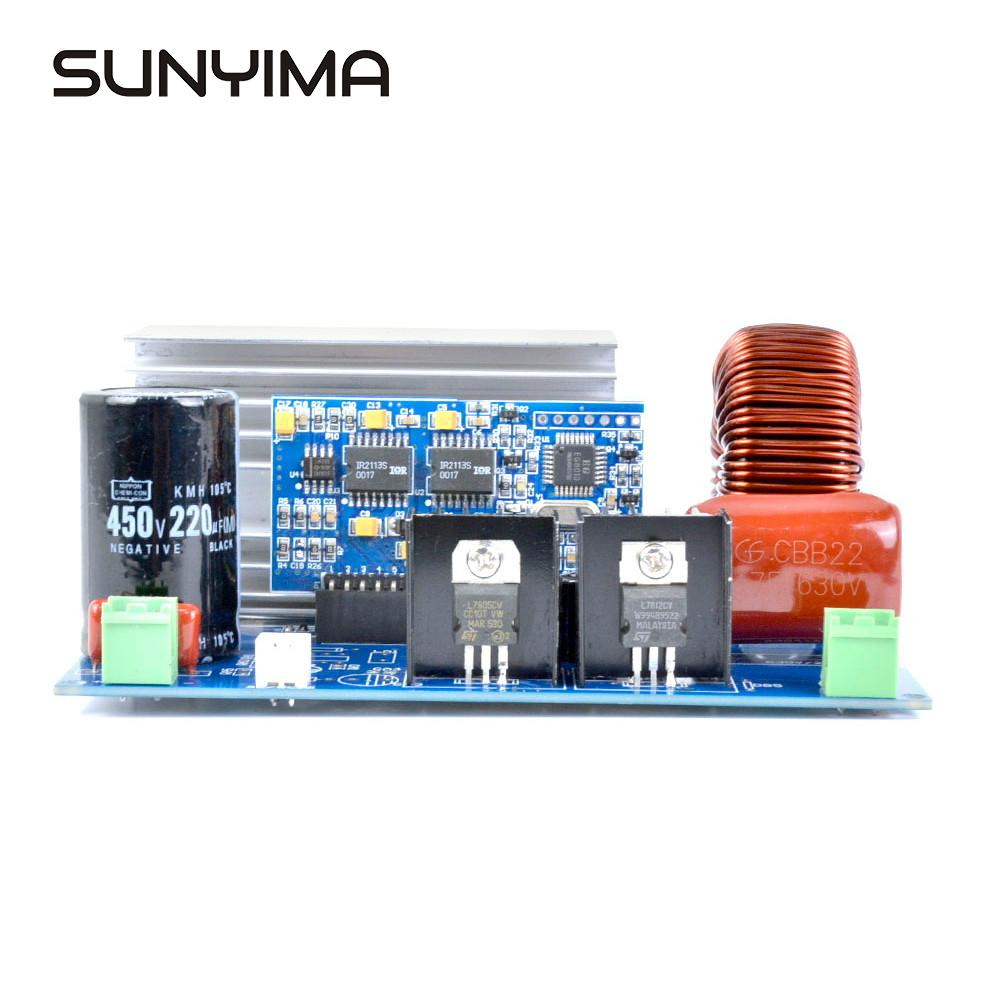 SUNYIMA 2000W zmodyfikowana fala sinusoidalna na czysta fala sinusoidalna sterownik płyty EGS002 AC16VDC380V do AC220V moduł napędu EG8010 + IR2110