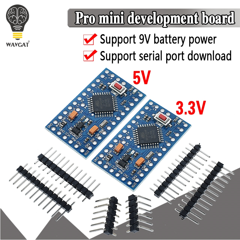 ATMEGA328P Pro Mini 328 Mini ATMEGA328 5V/16MHz ATMEGA328 3.3V 8MHz For Arduino Development Board