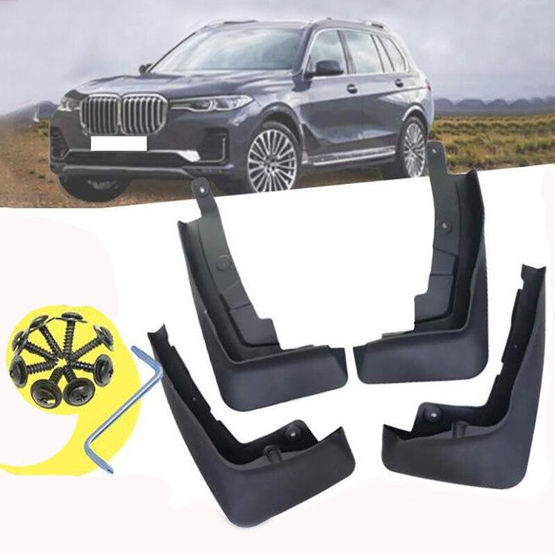 4 шт., передние и задние брызговики для BMW X7 G07 2019 2020
