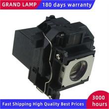 Per ELPL57 V13H010L57 Lampada Del Proiettore Compatibile per EB 450Wi/EB 455W/EB 455Wi/EB 460/EB 460E/EB 460i/EB 460LW/EB 465i/H318A