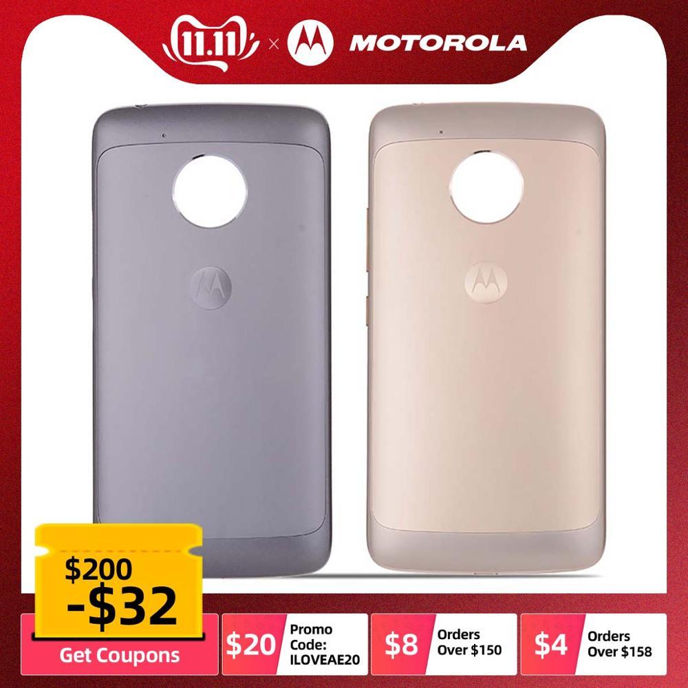 Original Rear Back Housing For Motorola Moto G5 Back Cover Battery Door Replacement Parts XT1672 XT1676