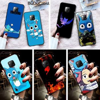 Riccu Happy Felice Fairy Tail Phone Case Cover for huawei mate 9 10 20 30 pro lite X Y5 6 7 9 prime Enjoy 7 image