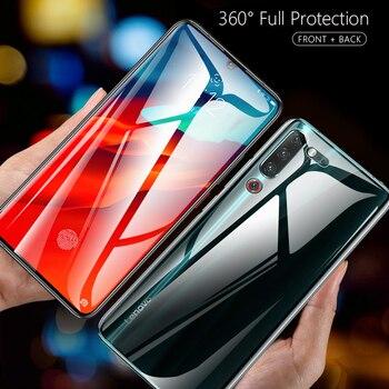 Перейти на Алиэкспресс и купить Lamorniea 100D изогнутая пленка для lenovo Z6 Pro 5G S5 Защитная пленка для экрана Z6 Lite Youth полное покрытие 3D Гидрогелевая пленка не закаленное стекло