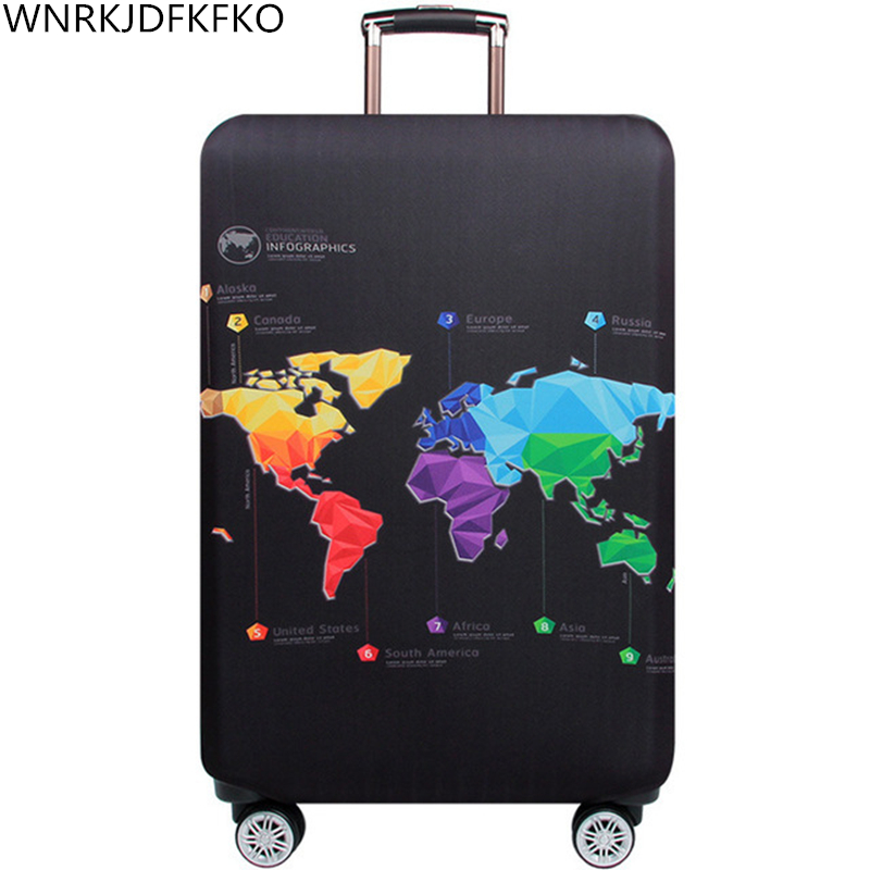 Travel Bag Protector Cover Thickest Travel Bag Accessory Bag  Elastic Bag Travel Bag Cover Applicable To 18-32 Inch Suitcase