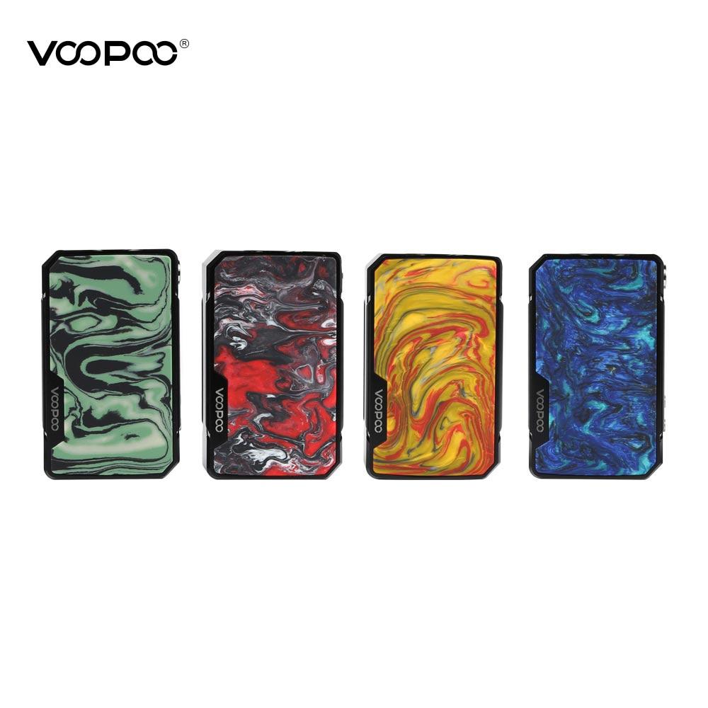 Original VOOPOO glisser mini vape mod 4400mah batterie 117W boîte mod fit 510 fil atomiseur réservoir mod batterie VS VOOPOO glisser 2 vape